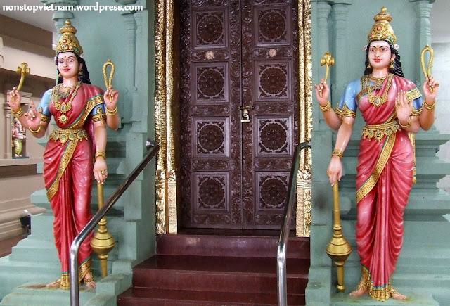 Hindu temple / Hindu templom