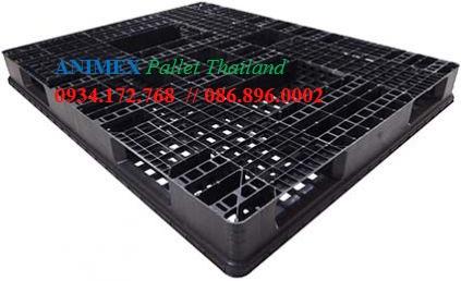 Pallet nhựa oneway ngành cao su xuất khẩu