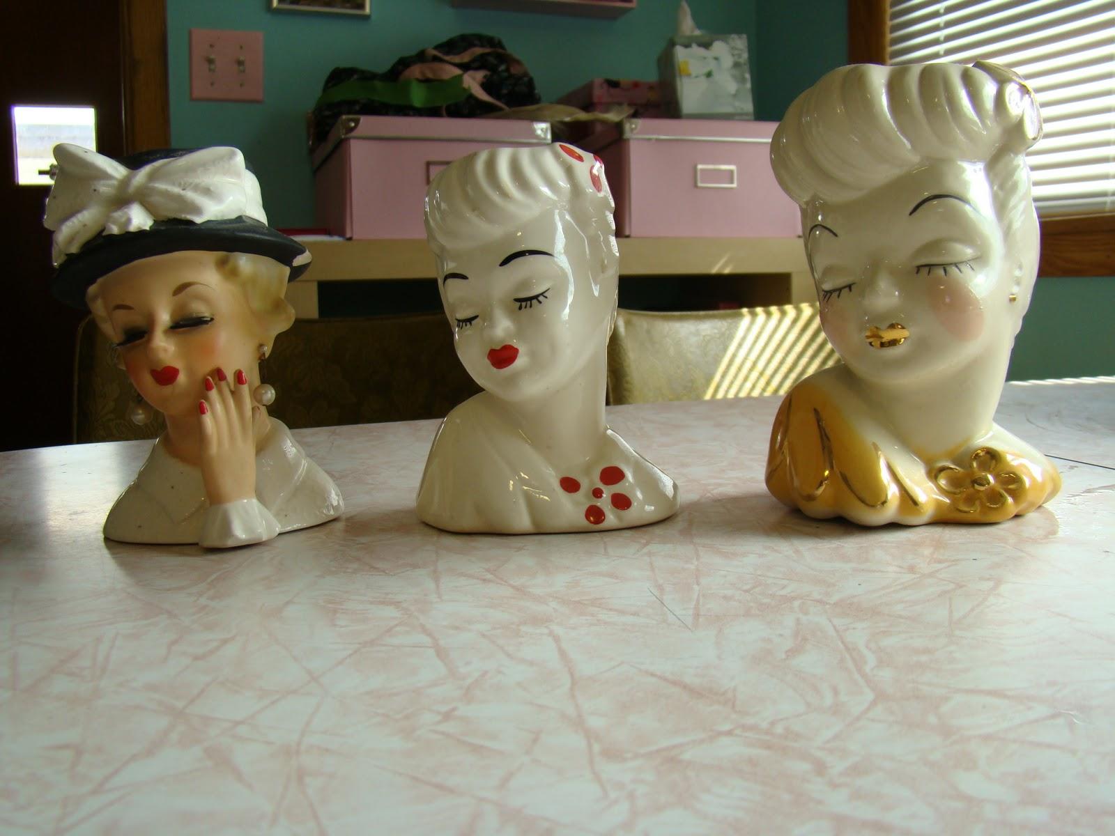 Living vintage lady head vases lady head vases reviewsmspy