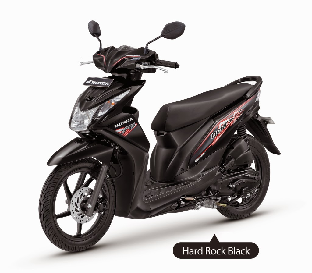 101 Modifikasi Motor Honda Beat Warna Hitam Modifikasi Motor Beat