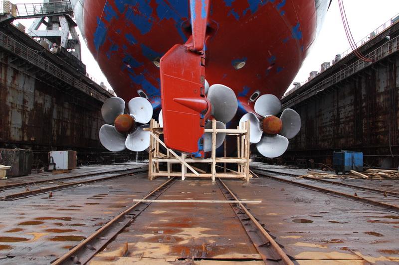 докование атомного ледокола