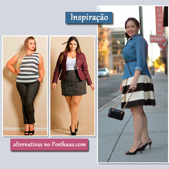 Plus Size Estampas