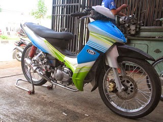 Jupiter Z Modifikasi Road Race Balap