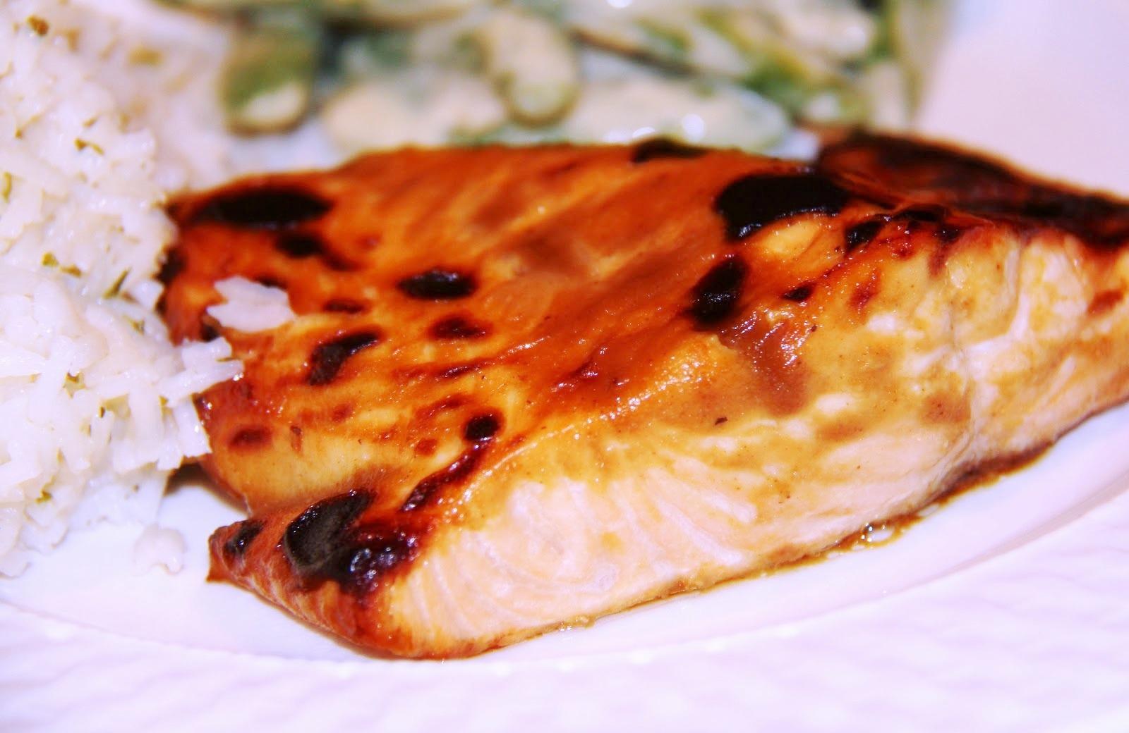 Stranded in Cleveland: Hoisin-Glazed Salmon | Recipe | Quick & Easy