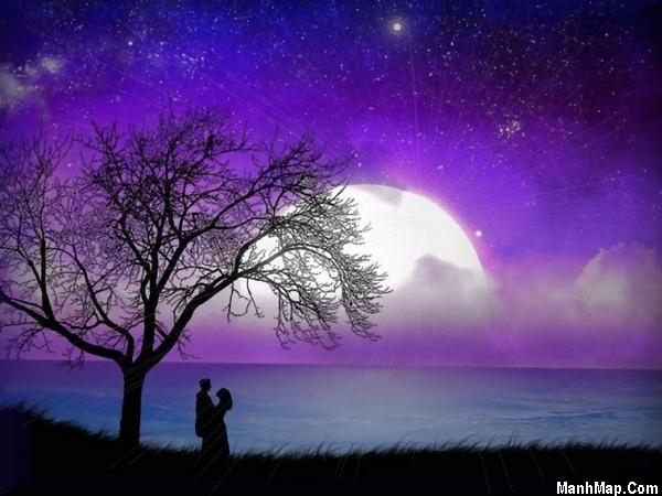 thơ đêm trăng cô đơn