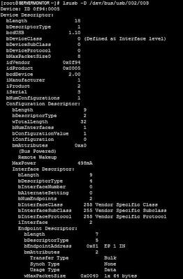Comprobar conexión módem GSM GPRS y detección desde Linux CentOS