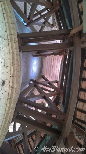 tangki dan struktur bumbung