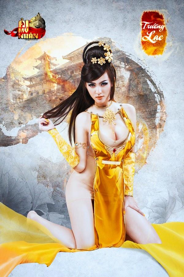 Ải Mỹ Nhân tung cosplay đón phiên bản Closed Beta 6