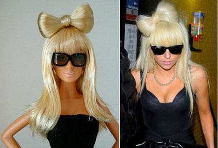 Lady Gaga Barbie Dolls(8pics):celebrities