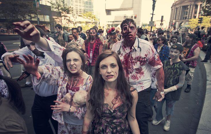 La marcha zombie, Max Brooks, reseña opinión