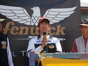 優勝の石井賢二選手は昨年の第4戦も優勝を果たしています。