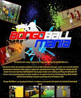 Bongo Ball Novelty College Corporate talent network