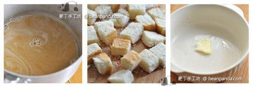 椰糖香蕉麵包布甸Coconut Bread Pudding_step02