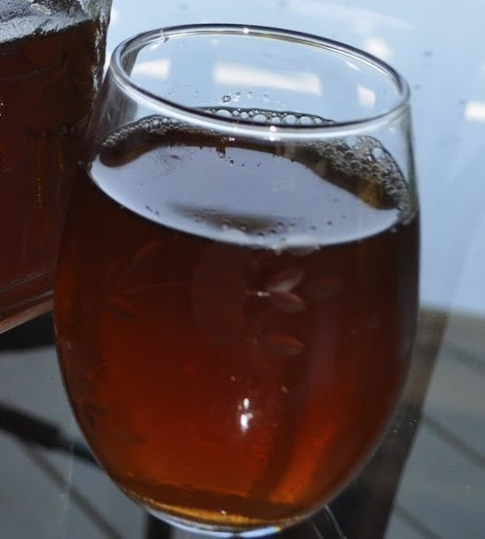 Southern Sweet Tea made with Nectresse instead of sugar!