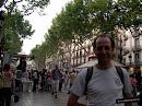 La Rambla era antiguamente la única vía ancha de Barcelona
