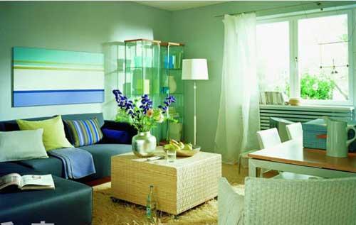 Nhà màu xanh và những ý tưởng thiết kế
