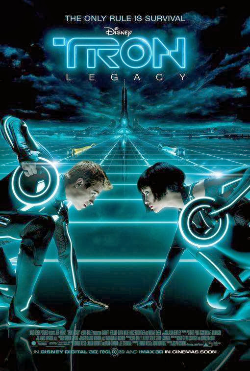 Poster Of TRON: Legacy (2010) Full Movie Hindi Dubbed Free Download Watch Online At Alldownloads4u.Com