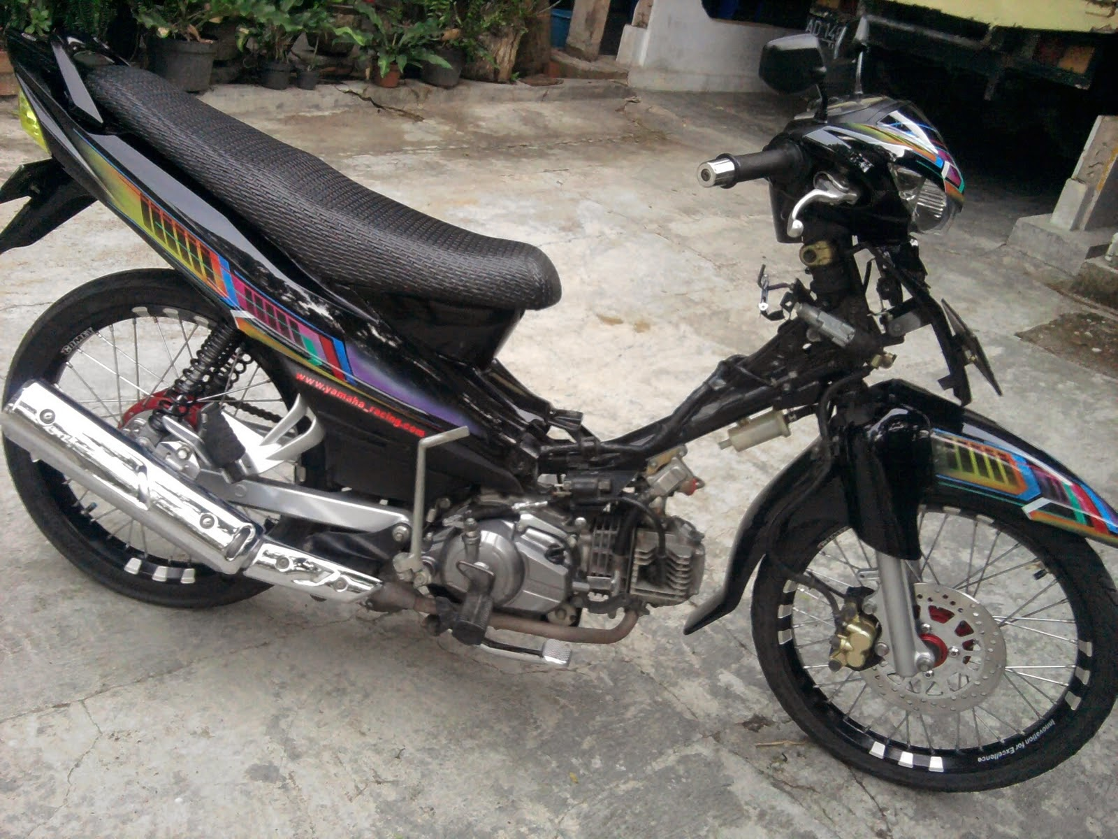 referensi motor modifikasi jupiter z