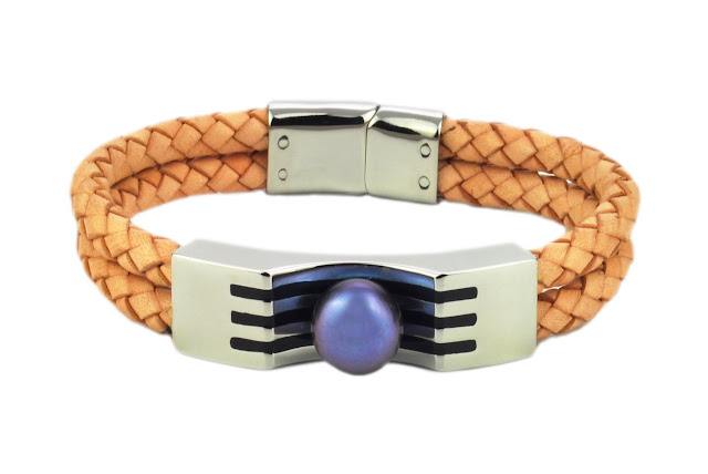 BraceletB 1 - Genuine Leather Bracelets and Keychains