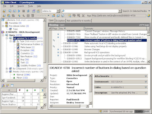 JIRA Client Lite 2.0.1