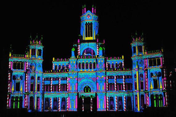 Madrid dará la bienvenida a la Navidad con un espectáculo en el Palacio de Cibeles