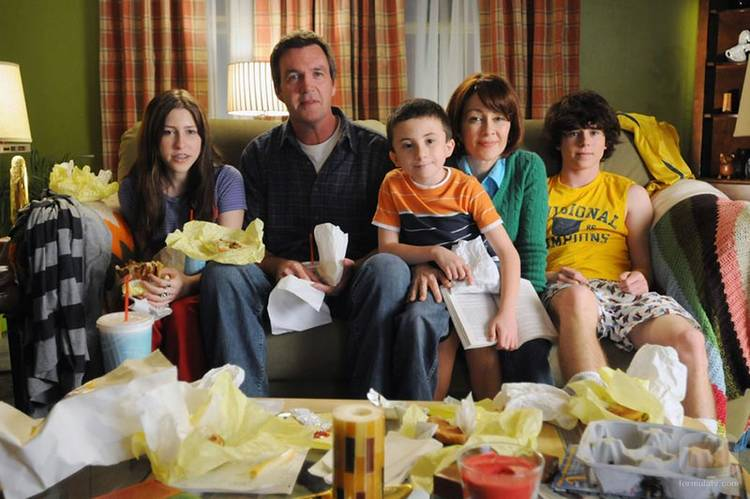 """The Middle"" recuerda demasiado a la gran ""Malcolm in the middle"""