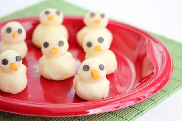 Mashed Potato Chicks