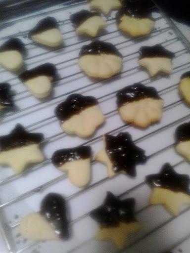 biscotti di pasta frolla montata ricetta blog cucina giallo zafferano A pummarola 'ncoppa burro cioccolato