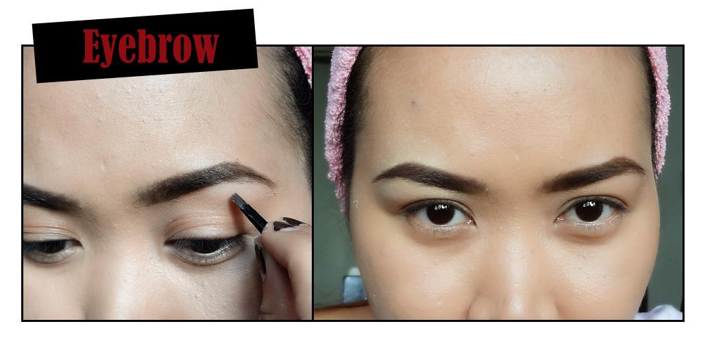 Vintage eye makeup
