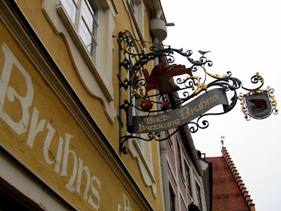 Bookshop sign Füssen