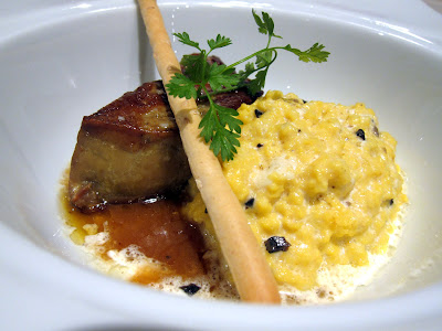 Foie Gras with Black Truffle Eggs