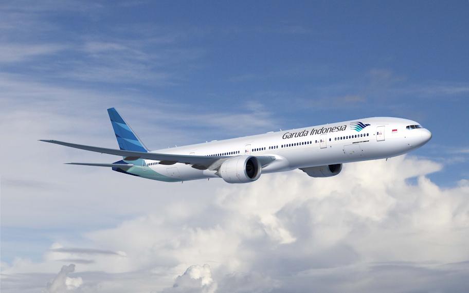 Garuda Airlines Desktop Wallpaper