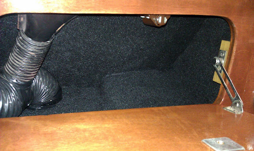 Glove Box tidy up IMAG0258