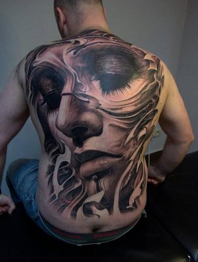 back tattoo design