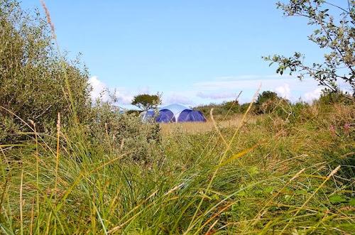 Ty Parke Farm Camping  at Ty Parke Farm Camping