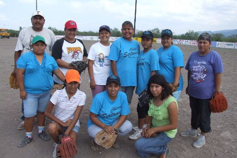 Equipo Shaday del softbol femenil del Club Sertoma