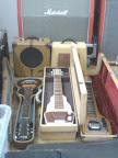 3 obviously older cased bakerlite era instruments