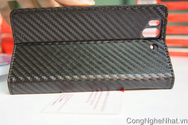 Bao dao và dán màn Sony Xperia Z(SO-02E) vân kẻ cacbon