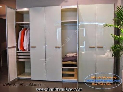 Các mẫu tủ quần áo bằng gỗ công nghiệp-3