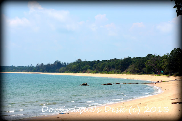 One of the beaches we visited last year