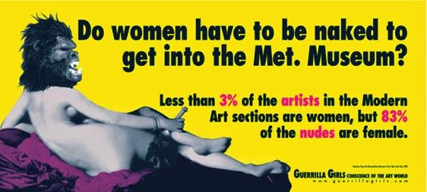 ¿Las mujeres tienen que estar desnudas para entrar en el museo Met?