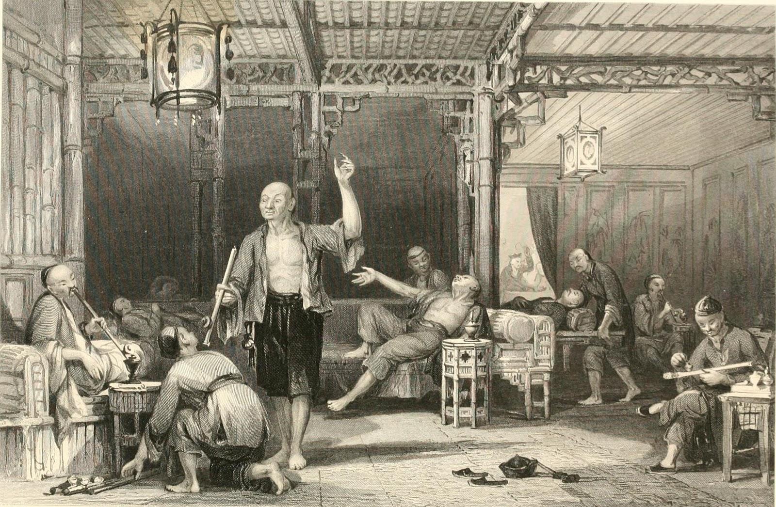 Viático de Vagamundo: First opium war 1839-1842 (Primeira guerra do ópio)