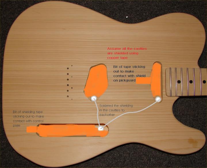 fender telecaster shielding ultimate guitar. Black Bedroom Furniture Sets. Home Design Ideas