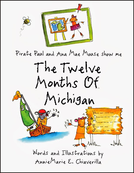 12 Months of Michigan - adorable picture book by AnnieMarie Chiaverilla