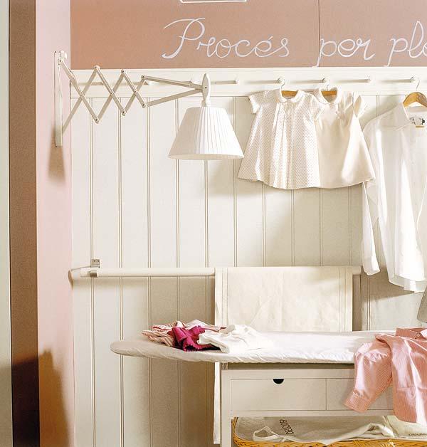 Mix and chic beautiful and functional laundry room ideas - Cuarto de lavado y planchado ...
