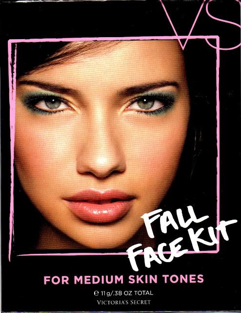 Adriana Lima para Fall Face kit (otoño 2011)