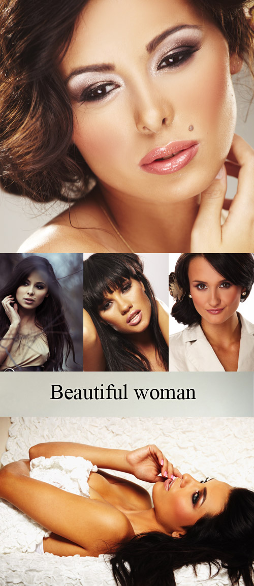 Stock Photo: Beautiful woman 12