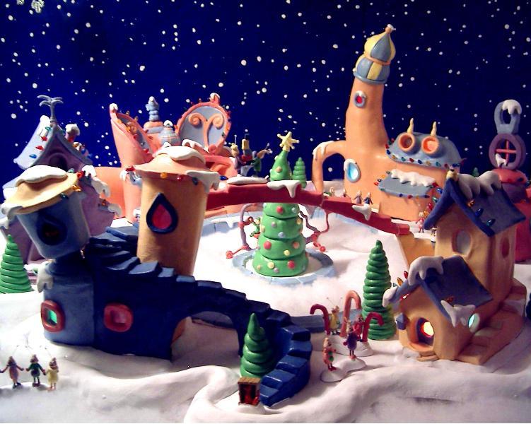 Lance Cardinal Creations: Dr.Seuss Whoville Lightup Village