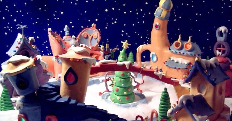 Lance Cardinal Creations Dr Seuss Whoville Lightup Village