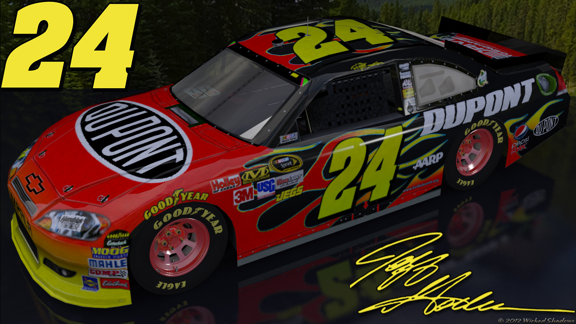 Free Jeff Gordon Wallpaper - WallpaperSafari